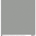 SRM Press - 12 x 12 Patterned Vinyl - Matte - Dots - Grey
