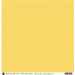 SRM Press - 12 x 12 Patterned Vinyl - Matte - Dots - Yellow