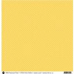 SRM Press - 12 x 12 Patterned Vinyl - Matte - Dots - Yellow