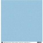 SRM Press - 12 x 12 Patterned Vinyl - Matte - Dots - Blue