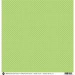 SRM Press - 12 x 12 Patterned Vinyl - Matte - Dots - Green
