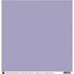 SRM Press - 12 x 12 Patterned Vinyl - Matte - Dots - Lavender