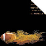 Scrappin Sports and More - Sports on Fire Collection - 12 x 12 Double Sided Paper - Football