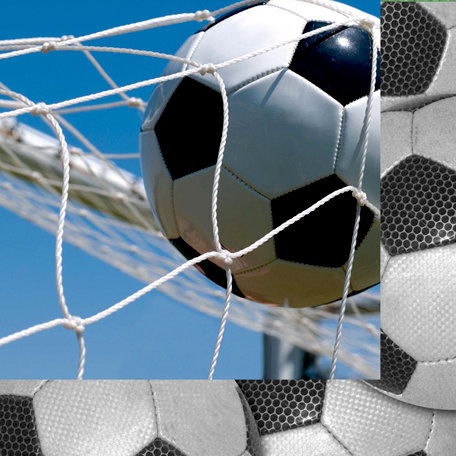 Scrappin Sports and More - Classic Sports Collection - 12 x 12 Double Sided Paper - Soccer