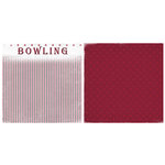 Scrappin Sports and More - Game Day Collection - 12 x 12 Double Sided Paper - Bowling