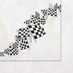 Scrappin Sports and More - Sports Head On Collection - 12 x 12 Double Sided Paper - Racing