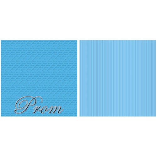 Scrappin Sports and More - Title Sports Collection - 12 x 12 Double Sided Paper - Prom