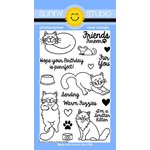Sunny Studio Stamps - Clear Acrylic Stamps - Furever Friends