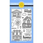 Sunny Studio Stamps - Clear Acrylic Stamps - Happy Home