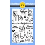 Sunny Studio Stamps - Christmas - Clear Acrylic Stamps - Santa's Helpers