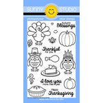 Sunny Studio Stamps - Clear Acrylic Stamps - Harvest Happiness