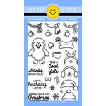 Sunny Studio Stamps - Clear Acrylic Stamps - Bundled Up
