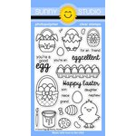 Sunny Studio Stamps - Clear Acrylic Stamps - A Good Egg