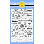 Sunny Studio Stamps - Clear Acrylic Stamps - Backyard Bugs