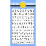 Sunny Studio Stamps - Clear Acrylic Stamps - Sweet Script