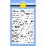 Sunny Studio Stamps - Clear Acrylic Stamps - Fresh and Fruity