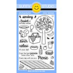 Sunny Studio Stamps - Clear Acrylic Stamps - Summer Picnic
