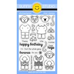 Sunny Studio Stamps - Clear Acrylic Stamps - Comfy Creatures