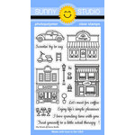 Sunny Studio Stamps - Clear Acrylic Stamps - City Streets