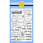 Sunny Studio Stamps - Clear Acrylic Stamps - Sweet Shoppe