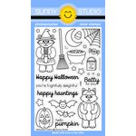Sunny Studio Stamps - Clear Acrylic Stamps - Halloween Cuties