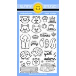 Sunny Studio Stamps - Clear Acrylic Stamps - Woodsy Creatures