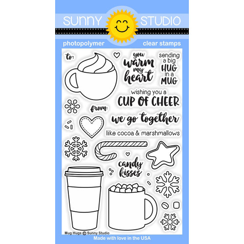 Sunny Studios Mug Hugs stamp set