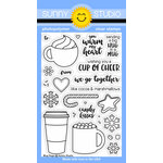 Sunny Studio Stamps - Christmas - Clear Acrylic Stamps - Mug Hugs