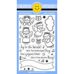 Sunny Studio Stamps - Christmas - Clear Acrylic Stamps - Little Angels