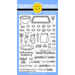 Sunny Studio Stamps - Christmas - Clear Acrylic Stamps - Blissful Baking