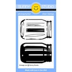 Sunny Studio Stamps - Clear Acrylic Stamps - Vintage Jars