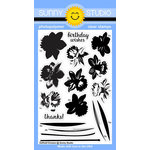 Sunny Studio Stamps - Clear Acrylic Stamps - Daffodil Dreams