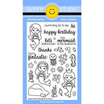 Sunny Studio Stamps - Clear Acrylic Stamps - Magical Mermaids