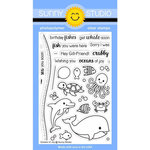 Sunny Studio Stamps - Clear Acrylic Stamps - Oceans of Joy