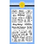 Sunny Studio Stamps - Clear Acrylic Stamps - Pirate Pals