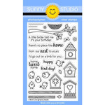 Sunny Studio Stamps - Clear Acrylic Stamps - A Bird's Life