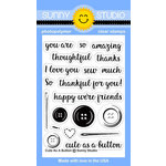 Sunny Studio Stamps - Clear Acrylic Stamps - Cute As A Button