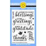 Sunny Studio Stamps - Clear Acrylic Stamps - Autumn Greetings