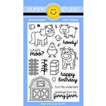 Sunny Studio Stamps - Clear Photopolymer Stamps - Barnyard Buddies