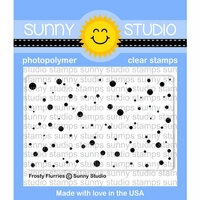 Sunny Studio Stamps - Christmas - Clear Photopolymer Stamps - Frosty Flurries