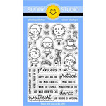 Sunny Studio Stamps - Clear Acrylic Stamps - Tiny Dancers