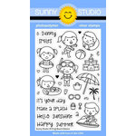 Sunny Studio Stamps - Clear Acrylic Stamps - Beach Babies