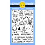 Sunny Studio Stamps - Clear Photopolymer Stamps - Critter Campout