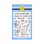 Sunny Studio Stamps - Clear Acrylic Stamps - Devoted Doggies