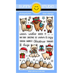 Sunny Studio Stamps - Christmas - Clear Photopolymer Stamps - Alpaca Holiday