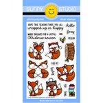 Sunny Studio Stamps - Christmas - Clear Photopolymer Stamps - Foxy Christmas