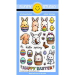 Sunny Studio Stamps - Clear Photopolymer Stamps - Chubby Bunny