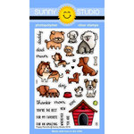 Sunny Studio Stamps - Clear Photopolymer Stamps - Puppy Parents