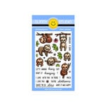 Sunny Studio Stamps - Clear Photopolymer Stamps - Silly Sloths