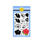 Sunny Studio Stamps - Clear Photopolymer Stamps - Hawaiian Hibiscus